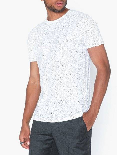 Image of Selected Homme Slhart Ss O-Neck Tee B T-paidat ja topit Valkoinen