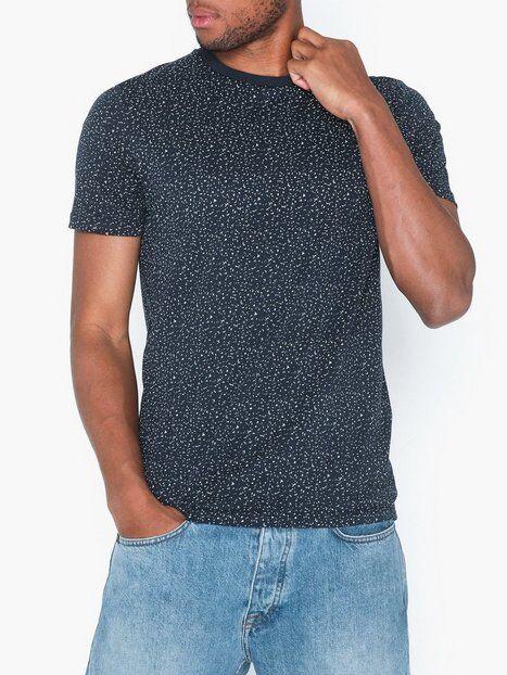 Image of Selected Homme Slhart Ss O-Neck Tee B T-paidat ja topit Tummansininen