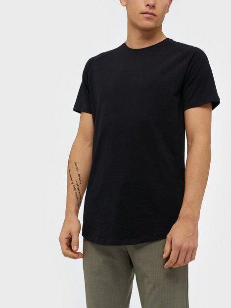 Image of Jack & Jones Jjecurved Tee Ss O-Neck Noos T-paidat ja topit Musta