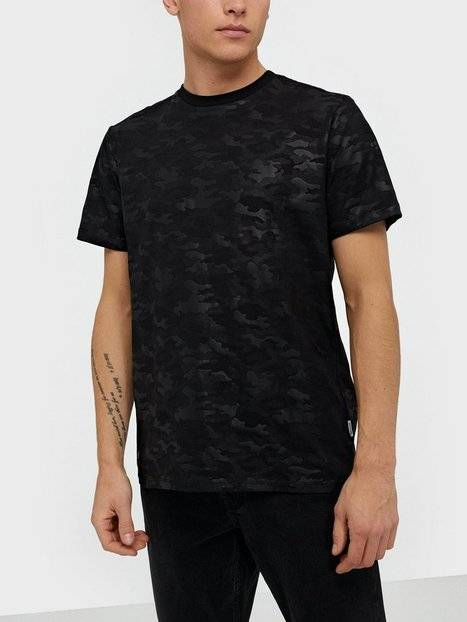 Image of Only & Sons Onsharuki Camo Ss Tee T-paidat ja topit Musta