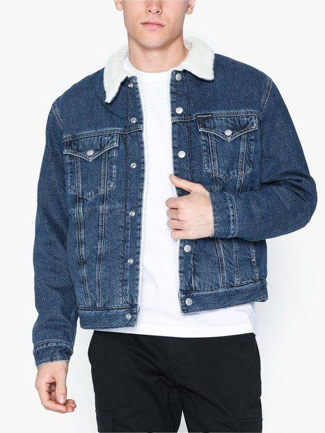 Image of Calvin Klein Jeans Sherpa Foundation Denim J Takit Denim