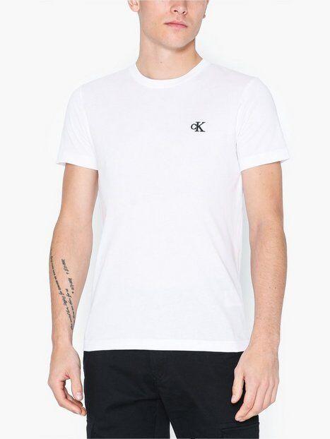 Image of Calvin Klein Jeans Ck Essential Slim Tee T-paidat ja topit White