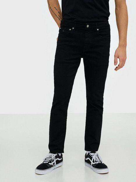 Image of Calvin Klein Jeans Ckj 058 Slim Taper Farkut Musta