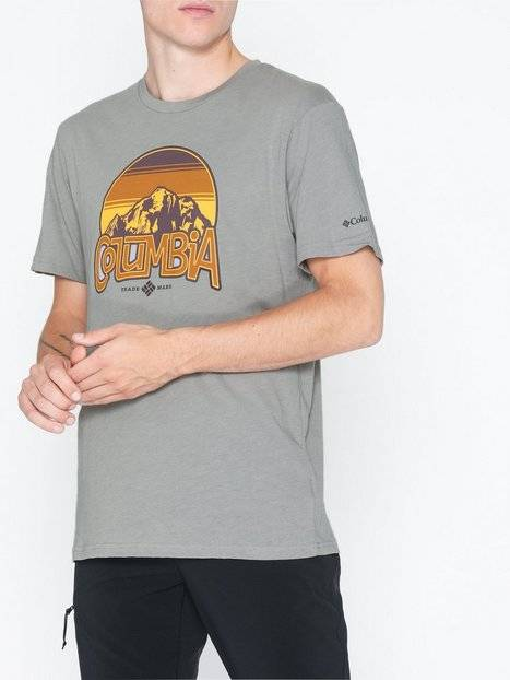 Columbia Basin Butte SS Graphic Tee T-paidat ja topit Grey