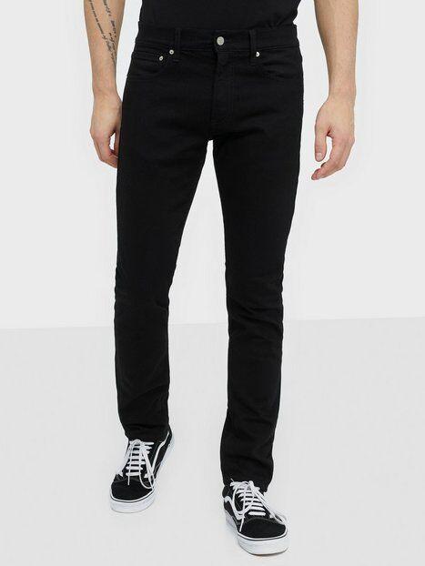 Image of Calvin Klein Jeans Slim West Cut Farkut Musta