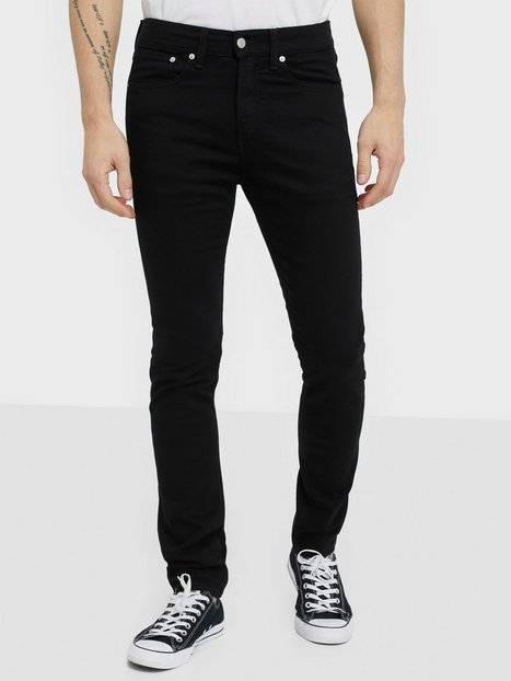Image of Calvin Klein Jeans Skinny West Farkut Musta