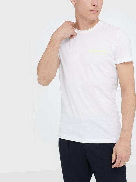 Image of Calvin Klein Jeans Chest Institutional Slim Tee T-paidat ja topit Valkoinen