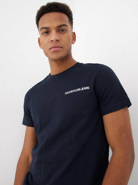 Image of Calvin Klein Jeans Chest Institutional Slim Tee T-paidat ja topit Sininen