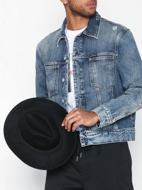 Image of Calvin Klein Jeans Mdrn Class Omega Trucker Takit Deniminsininen