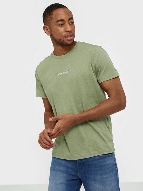 Image of Calvin Klein Jeans Instit Chest Logo Reg Tee T-paidat ja topit Green