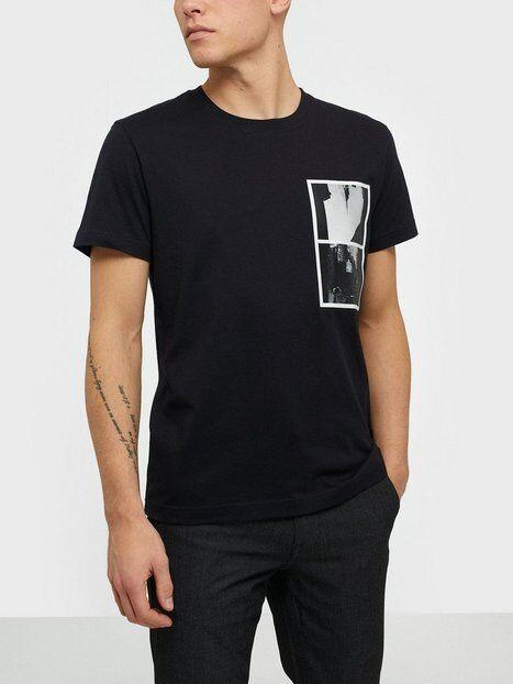 Image of Calvin Klein Jeans Multi Ny Photo Print Reg Tee T-paidat ja topit Black