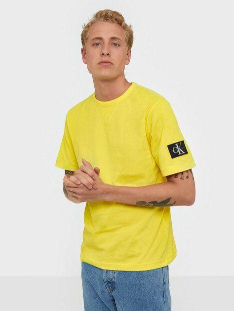 Image of Calvin Klein Jeans Monogram Sleeve Badge Reg Tee T-paidat ja topit Solar