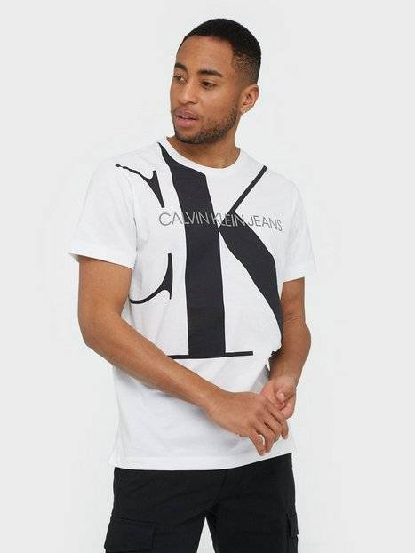 Image of Calvin Klein Jeans Upscale Monogram Logo Reg Tee T-paidat ja topit White