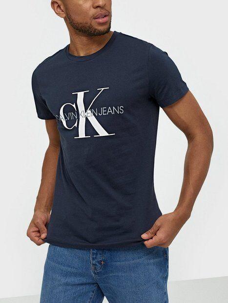 Image of Calvin Klein Jeans Iconic Monogram Ss Slim Tee T-paidat ja topit Sininen