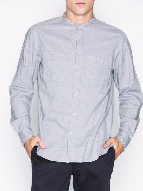 Image of Hope Rick Shirt Kauluspaidat Grey Melange