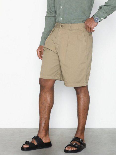 Image of Hope Tuck Shorts Shortsit Beige