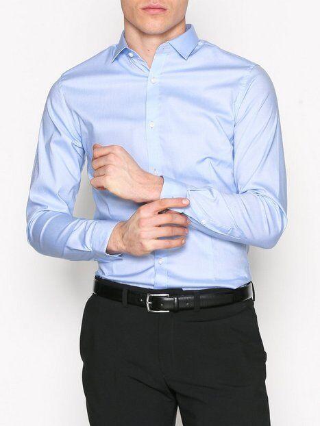 Premium by Jack & Jones jjprPARMA Shirt L/S Noos T-paidat ja topit Sininen