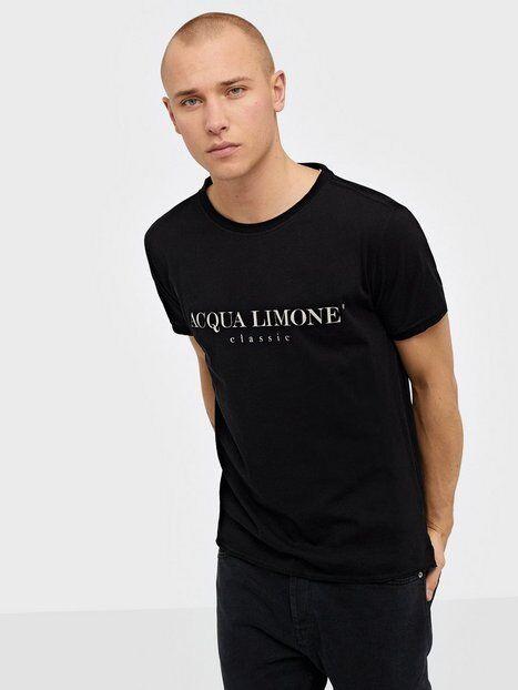 Acqua Limone T-Shirt Classic T-paidat ja topit Black