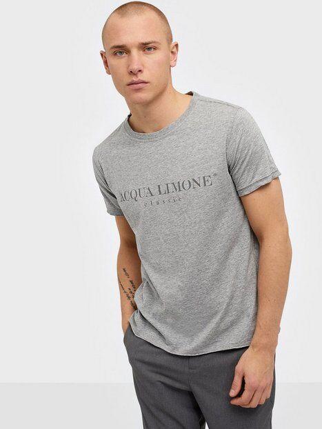 Acqua Limone T-Shirt Classic T-paidat ja topit Grey
