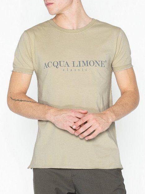 Acqua Limone T-shirt Classic T-paidat ja topit Khaki