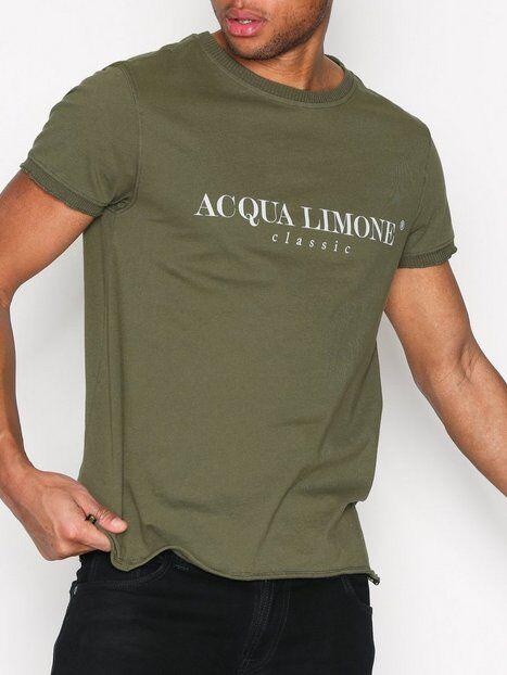 Acqua Limone T-shirt Classic T-paidat ja topit Olive