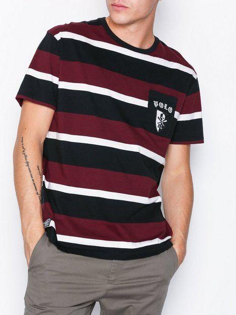 Polo Ralph Lauren Short Sleeve Jersey T-Shirt T-paidat ja topit Raidallinen