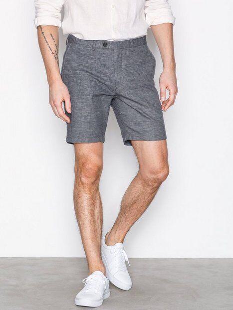 Selected Homme Shdstraight Bale Shorts Shortsit Vaaleansininen