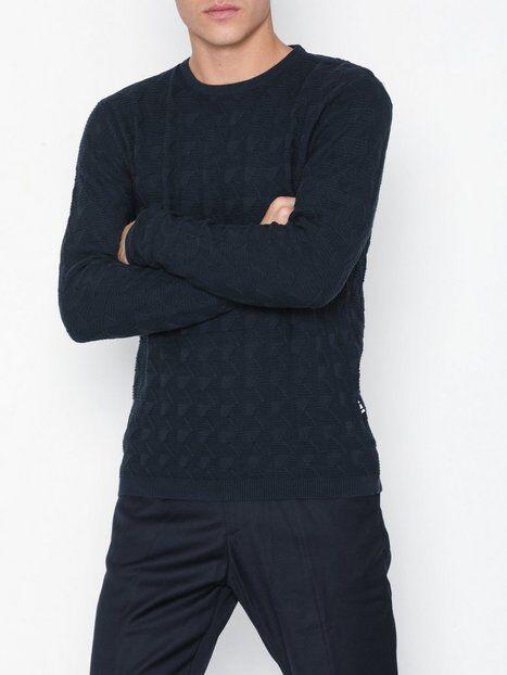 Tailored Originals Knit - Gustav Puserot Insignia Blue