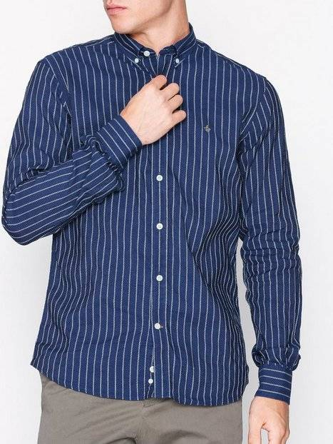 Morris Normandie Button Down Shirt Kauluspaidat Blue
