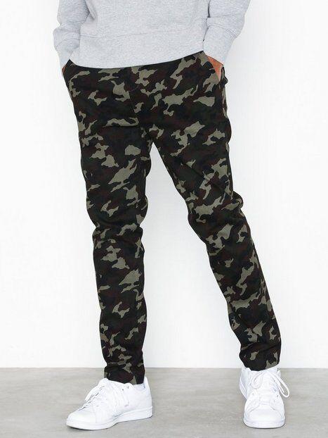 Mouli Mouflon Trousers Housut Camo