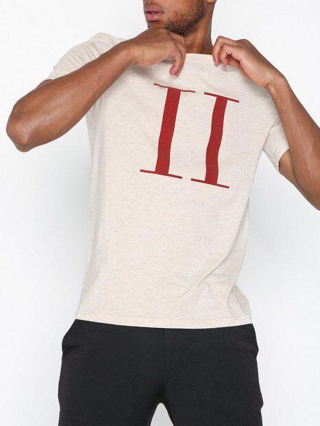 Les Deux Encore T-Shirt T-paidat ja topit Vaaleanruskea