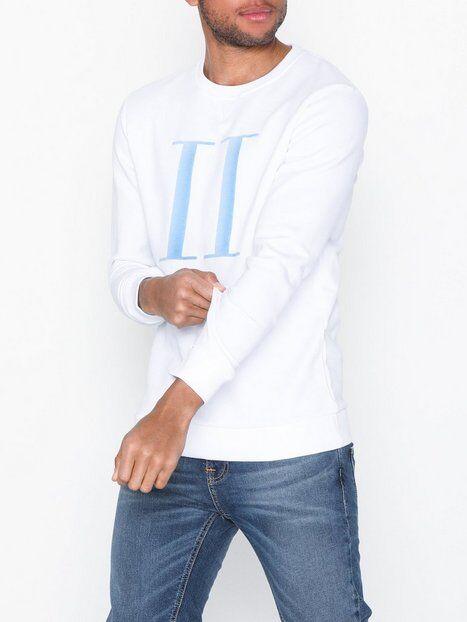 Les Deux Encore Light Sweatshirt Puserot Valkoinen/sininen