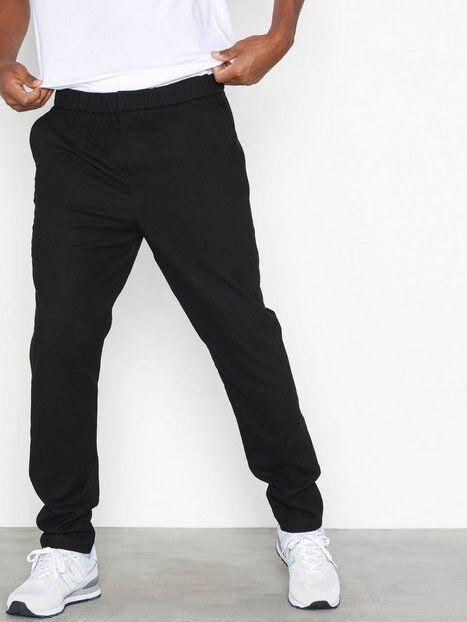 Mouli Mouflon Trousers Housut Black