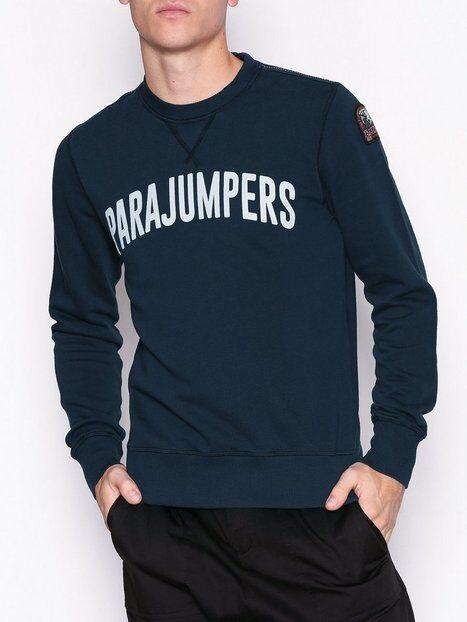 Parajumpers PJS M Caleb Basic Fleece Puserot Blue