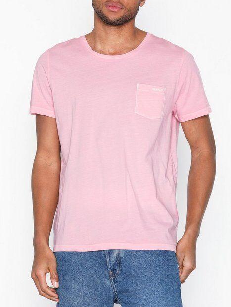 Gant O2. Sunbleached Ss T-Shirt T-paidat ja topit Pink