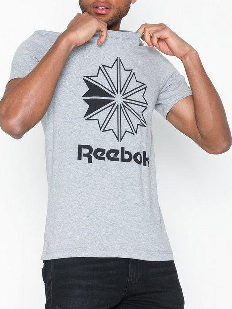 Reebok Classics Cl Big Logo Tee T-paidat ja topit Grey