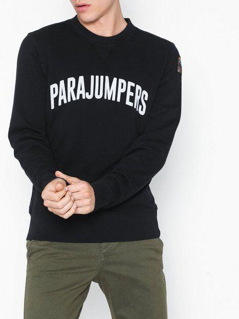 Parajumpers PJS M Caleb Cotton Fleece Puserot Black