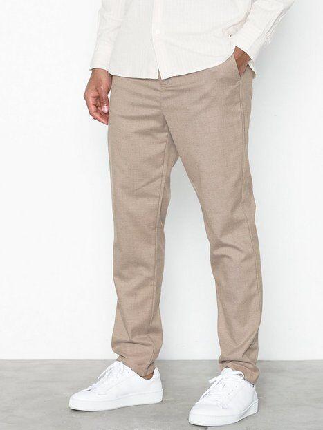 Mouli Mouflon Trousers Housut Beige