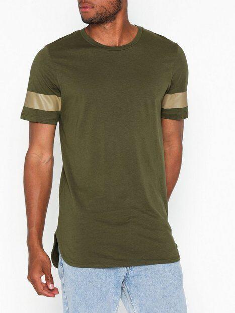Jack & Jones Jcoreflect Tee Ss Crew Neck T-paidat ja topit Vihreä