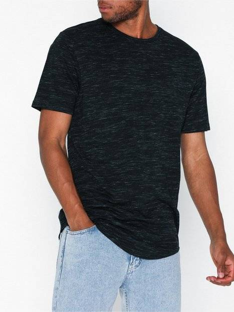Only & Sons onsMATTY Melange Longy Tee T-paidat ja topit Tummansininen