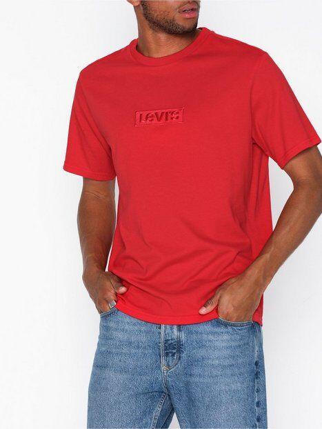 Levis Relaxed Graphic Tee Babytab Ss T-paidat ja topit Punainen
