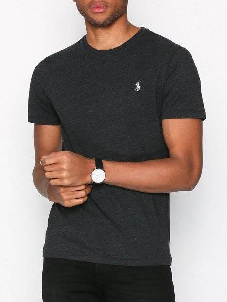 Polo Ralph Lauren Short Sleeve Jersey T-Shirt T-paidat ja topit Musta