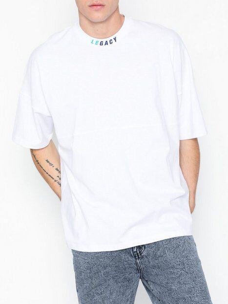 Topman White Legacy Oversized T-Shirt T-paidat ja topit White