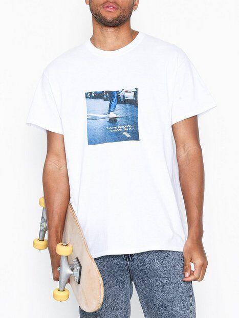 Topman Short Sleeve White Skate Photo Tee T-paidat ja topit White