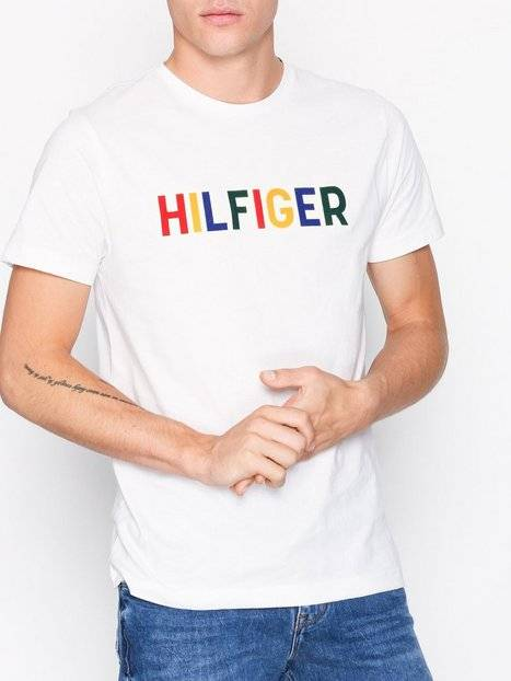 Tommy Hilfiger Tommy Graphic Tee T-paidat ja topit Snow White