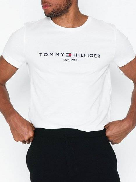 Tommy Hilfiger Tommy Logo Tee T-paidat ja topit Snow White
