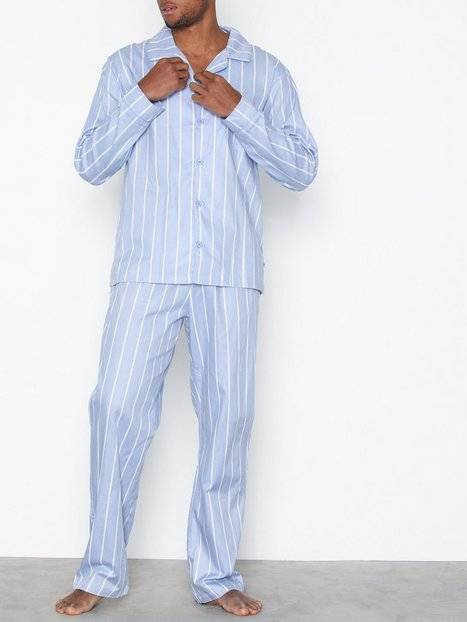 Rayville Mick Pyjamas Club Stripe Yöasut Blue/White