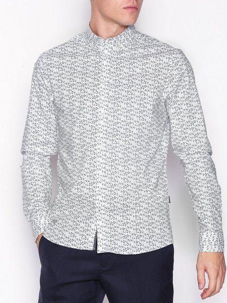 Tailored Originals Shirt - Lancelot Kauluspaidat Kuviollinen