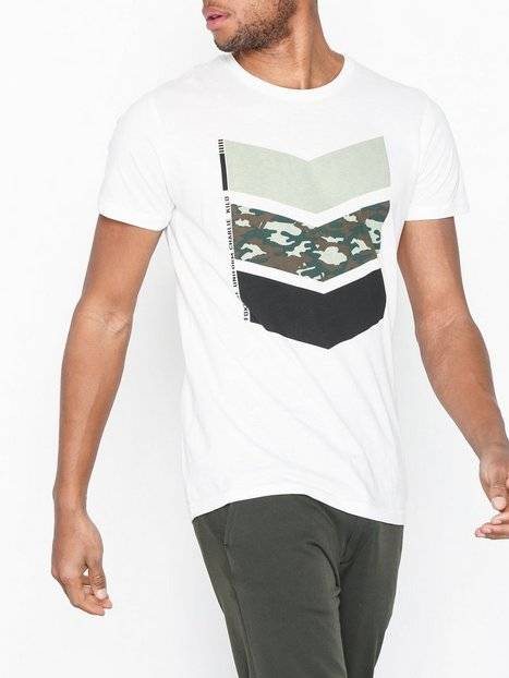 Solid Arie T-shirt T-paidat ja topit White