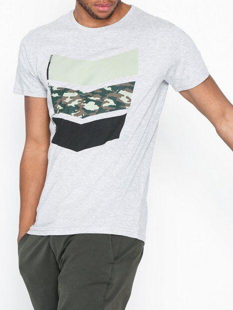 Solid Arie T-shirt T-paidat ja topit Grey